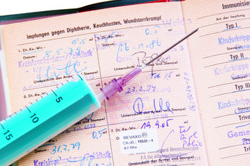 Impfausweis / Impfpass