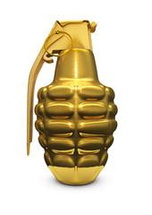 Gold grenade