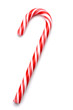 Christmas candy cane isolated on white - 33878957