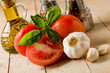 Italian main Ingredients for cooking