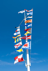 Sea flags