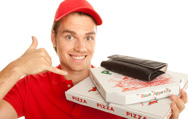 anrufen pizza