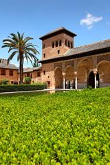 El Partal Palast in der Alhambra, Granada, Spanien