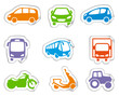 Motor transport stickers