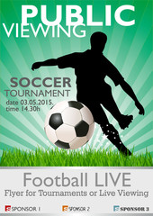 Public Viewing - Soccer Tournament