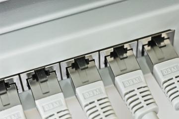 Ethernet RJ 45 Patchpanel Netzwerkverkabelung