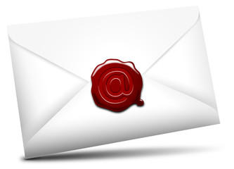 E-mail icon, @-Siegel