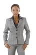 Businesswoman in suit