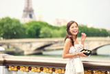 Fototapety Paris girl