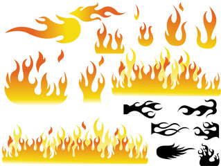 Fire Flame Illustrations
