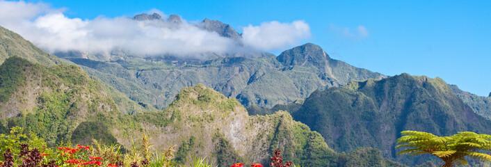 cirque de Salazie, île de la Réunion