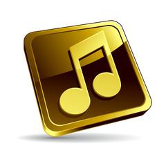 Icône note de musique