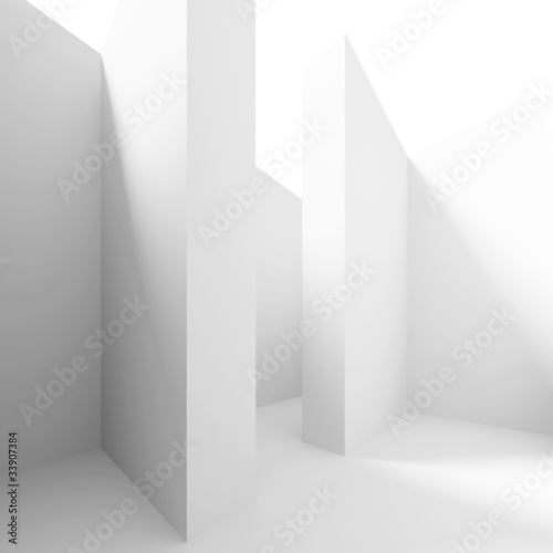 Plakat White Columns Hall