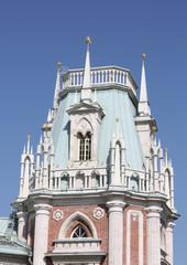 Tower of the Grand Palace of Tsaritsyno