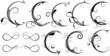 Swirl Design Fancy Decorative Elements