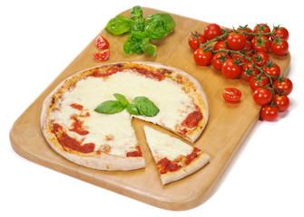Pizza sul tagliere