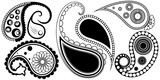 Artistic Paisley Henna Tattoos Designs