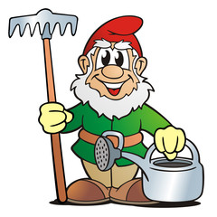Garden Gnome Gardener