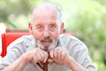 healthy happy old age senior man