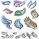 AMAZING - FEATHERS AND WINGS VECTOR
