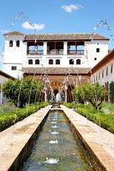 Palacio de Generalife in der Alhambra, Granada / Spanien