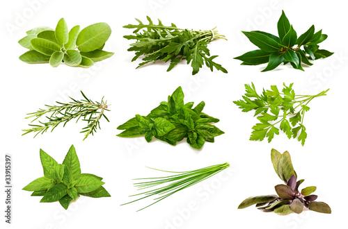 Mix aromatic herbs