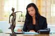 Rechtsanwalt und Justitia