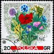 POLAND - CIRCA 1967 Flowers