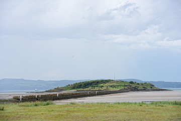 Cramond Island,Firth of Forth, Scotland