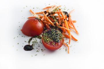Pomodoro Carote Aceto Balsamico Toscana