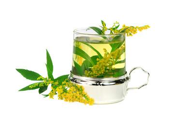 Tee der Riesengoldrute  zur Behandlung von Nierenproblemen