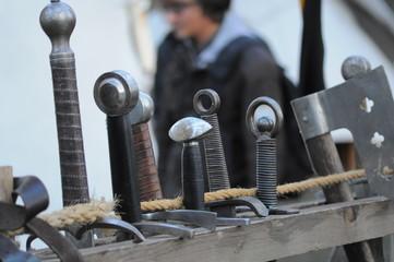 Mittelalter Waffen