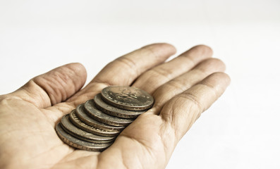 Some Coins in Hand