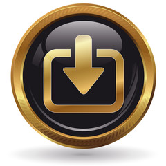 Download - Button gold