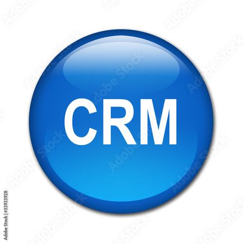 Boton brillante texto CRM