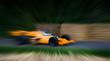 racing car zoom