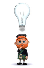 3d Scotsman has a bright idea