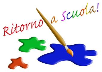 Vuelta al colegio en Italiano