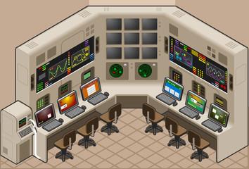 Isometric Control Panel