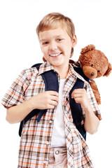 gay boy goes to school