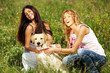 girlfriends and dog