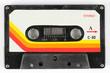Leinwanddruck Bild - old cassette