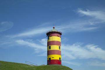 Leuchtturm in Pilsum, Deutschland
