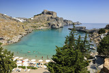 Fototapety St Paul's Bay Beach in Lindos