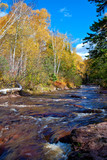 caribou creek, autumn