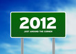 Green Road Sign 2012