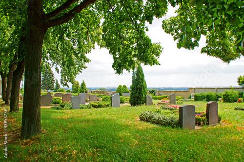 Aluminium Begraafplaats Friedhof