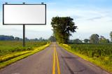 Billboard on american road