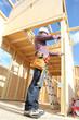 Carpenter building house
