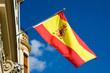 canvas print picture - Spanish flag